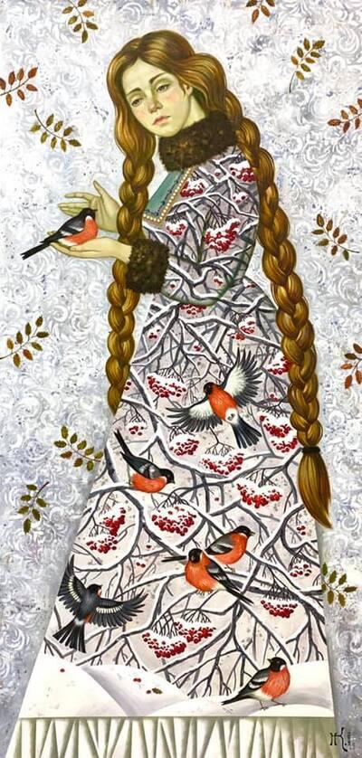 Mardi - Mon artiste du mardi : Natalia Klimova