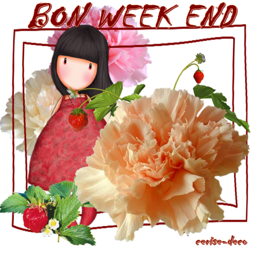 bon week end en gif
