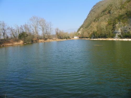 L'étang bleu