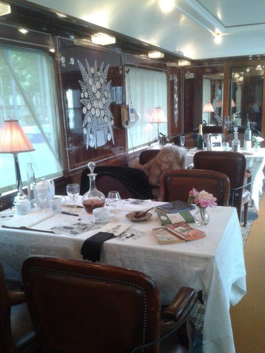 Exposition Orient Express suite