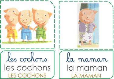 Conte 1 : les Trois petits cochons