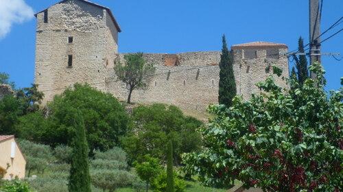 le château datant des templiers