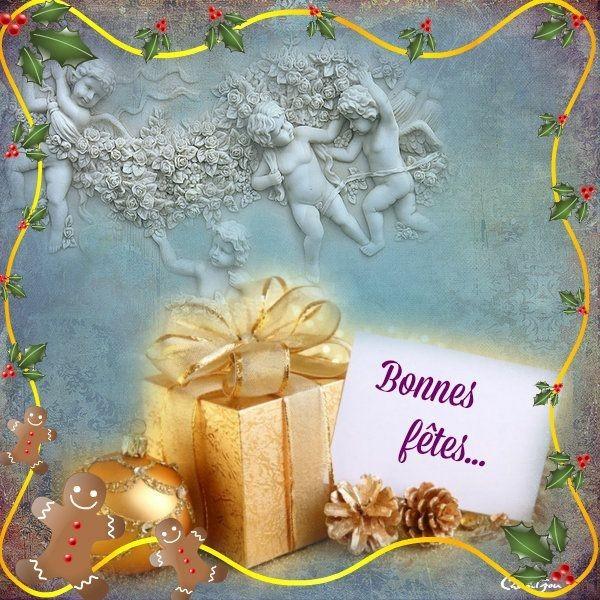 Joyeux NOËL et Bonne Année A Vous Tous Mes Amies ♥ ♥
