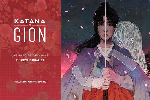 Katana of Gion Couverture Promotionnelle pour la campagne