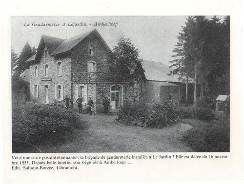 Brigade de Gendarmerie à Le Jardin