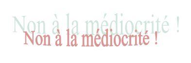 Médiocrité