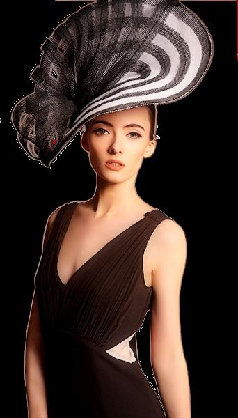 Tubes femmes chapeaux création 12