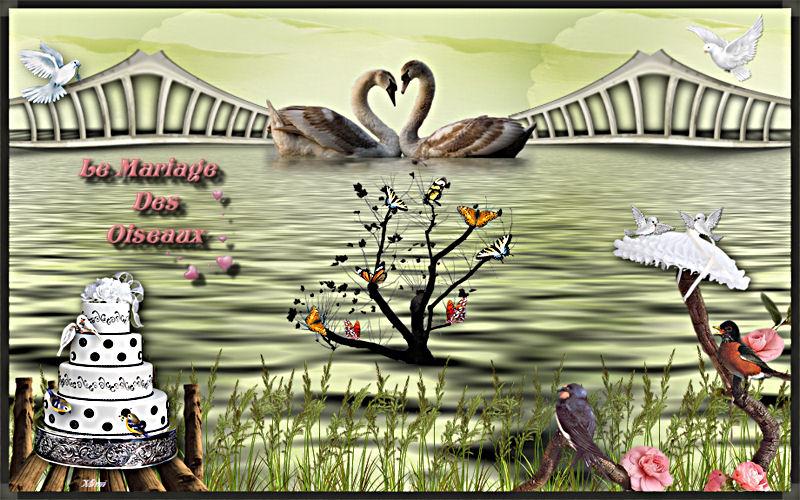 Défi le mariage des oiseaux