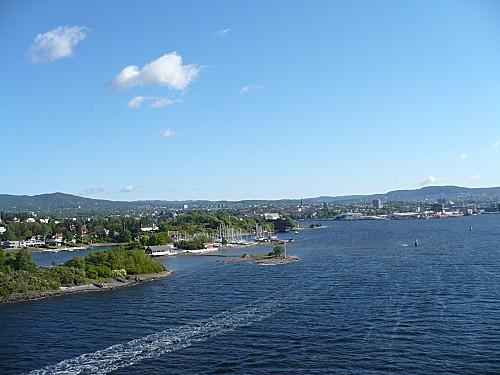 Oslo au fond de son fjord