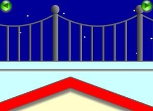 Escape the unknown balcony