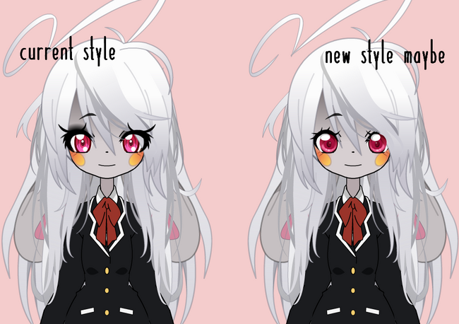 New eyes style but idk ??