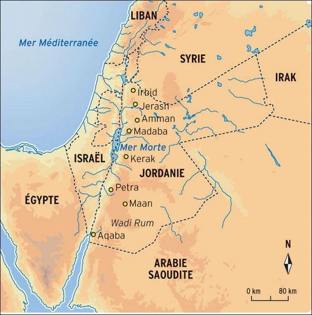Jordanie 2 / la moitié de la population vit à Amman
