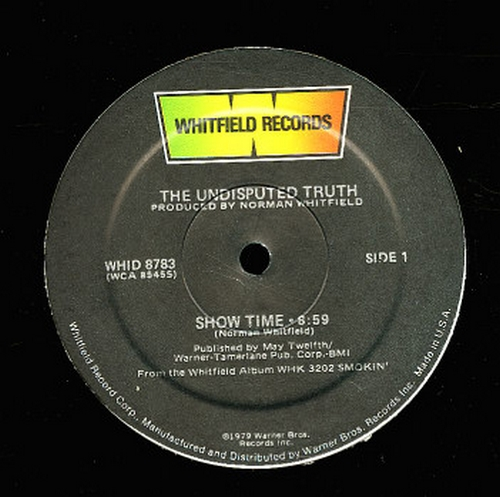 1979 : Single 12 Inch Whitfield Records WHID 8738 / WHID 8738 Promo [ US ]
