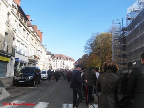 Le Centenaire de la fin du conflit de 1914-1918 a été magnifiquement fêté à Châtillon sur Seine le 11 novembre 2018