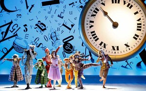 dance ballet times clocks adventure wonderland