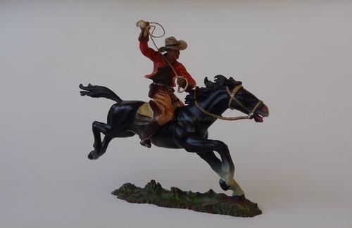 Les Cowboys à cheval