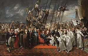 arrival-of-louis-xviii-at-calais