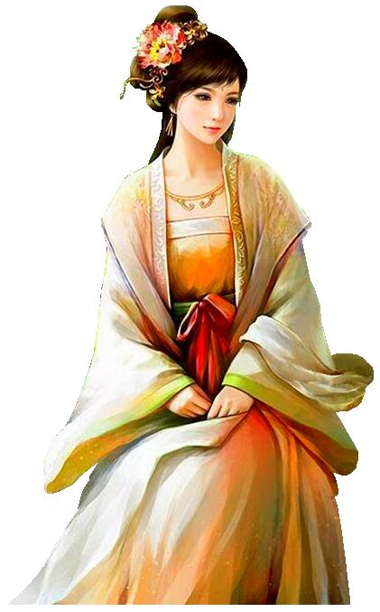 buste femme asiatique