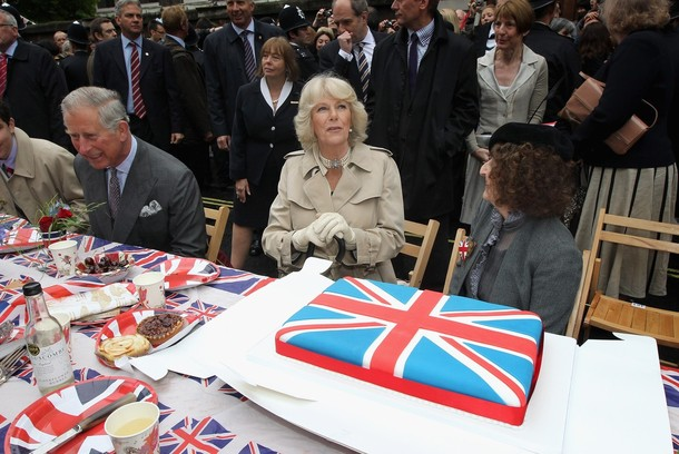 Charles et Camilla à Picadilly