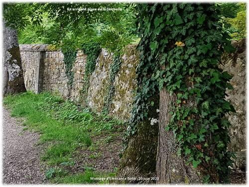 Le parc nord - ouest du château de Pontchartrain