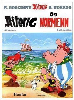 Proposition de couverture pour: Astérix et les Normands