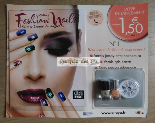 N° 1 Collection fashion nails - Edition 2017