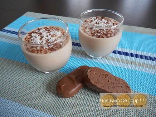Crème dessert au Bounty