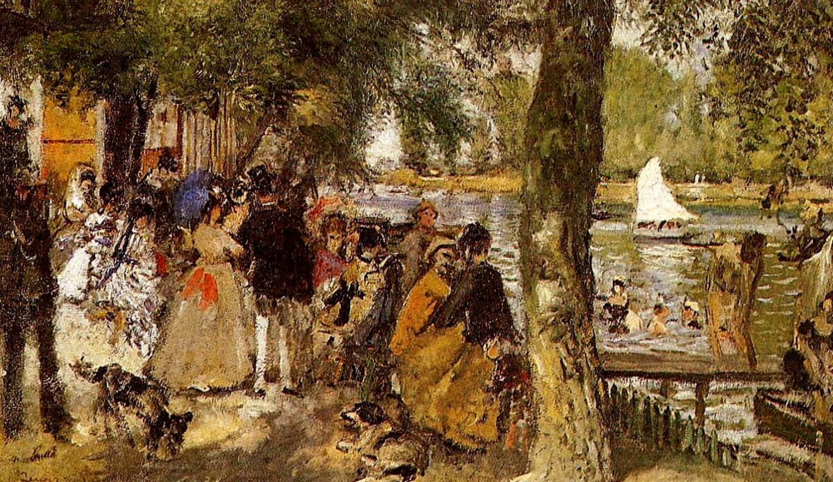 3-Renoir 1869 / La Grenouillère