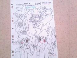 Le nom et Présentation de tous mais manga crée par moi !!!