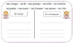 Ateliers autonomes lecture CP: les mots