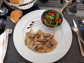 Emincé de bœuf aux petits légumes