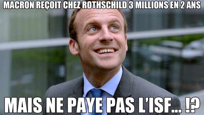 Macron le ROI des manipulateurs