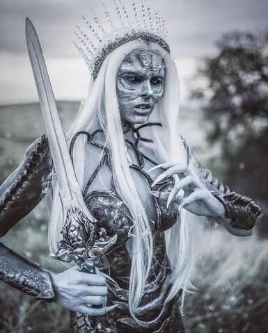 Quelques cosplays White Walkers