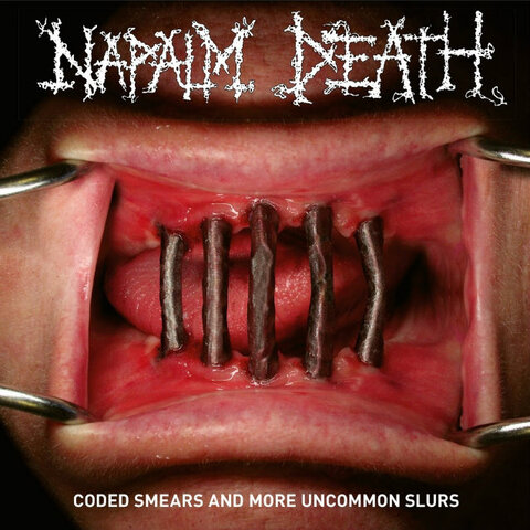 NAPALM DEATH - Un nouvel extrait de la compilation Coded Smears And Uncommon Slurs dévoilé