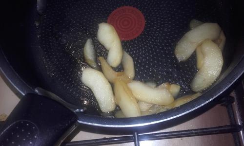 Nems Pomme, sirop d'Erable et Noix de Pécan {Vegan}