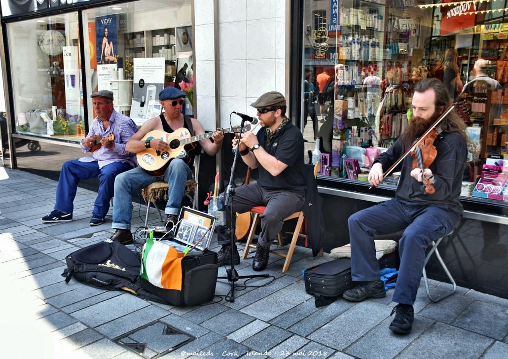 Dans les rues de Cork - Irlande
