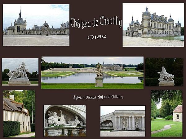 Château de Chantilly (montage pour blog)