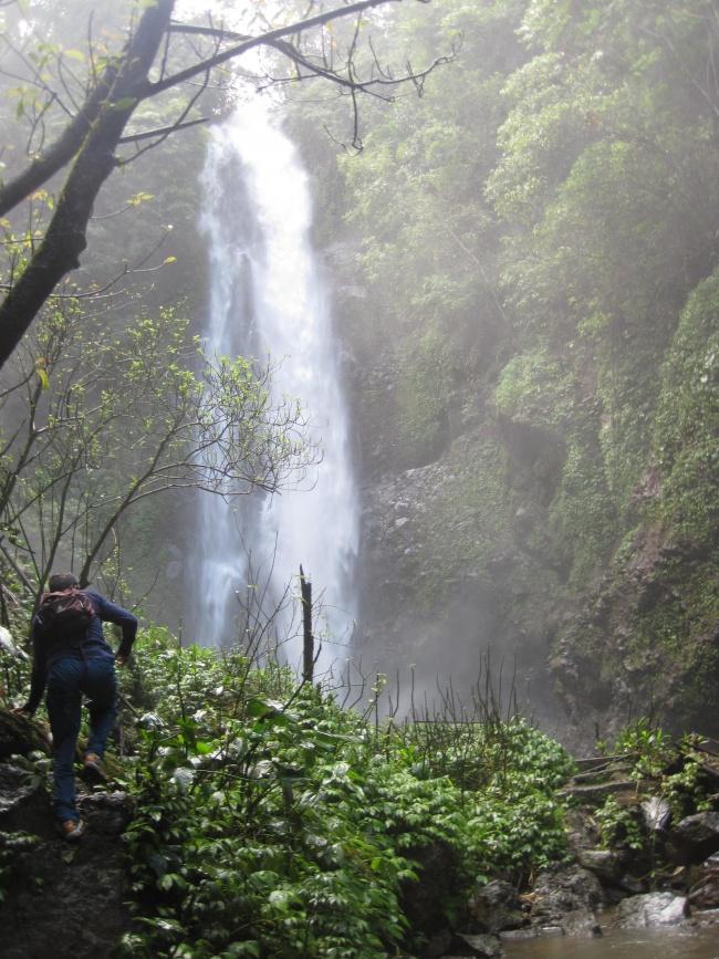 Les cascades de Munduk, Bali