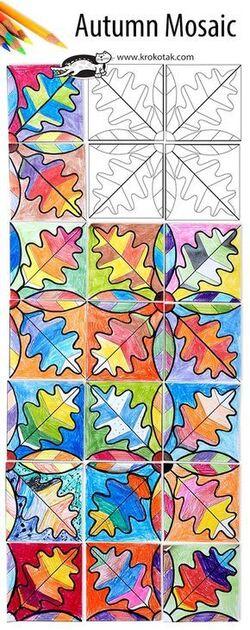 Idée arts sur l'automne niveau cycle 2