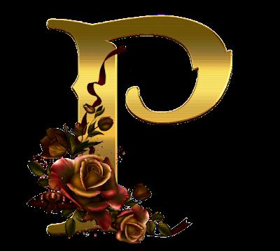 Alfabet gold
