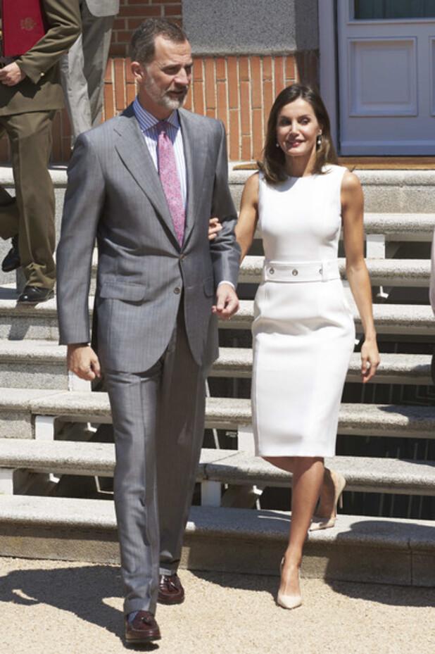 Felipe et Letizia le 10 juillet