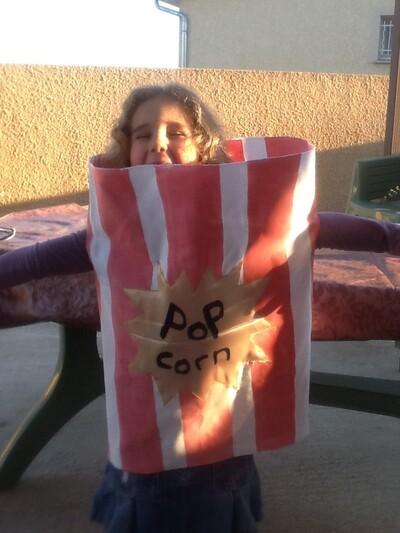Projet déguisement pop corn...