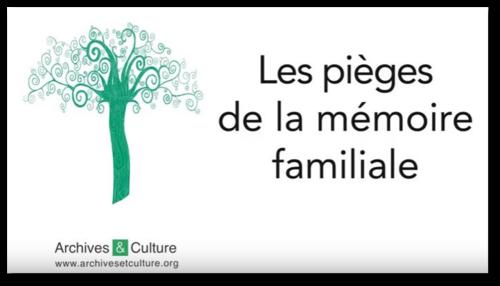 Les pièges de la mémoire familiale