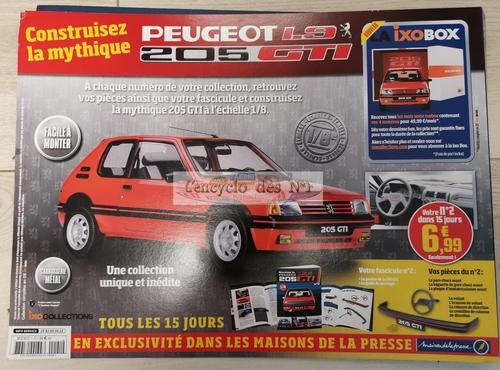 Construisez la Peugeot 205 GTI 1.9 - Lancement