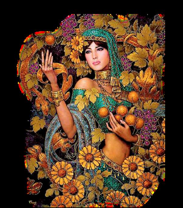 Femmes Orientales Série 11