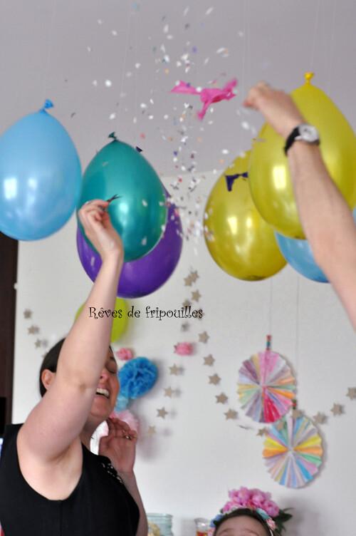 Une fête d'anniversaire licorne