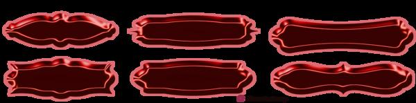 Bandes de décoration avec boutons pour blog page 6