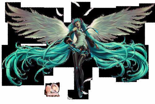 vocaloid miku hatsune ange