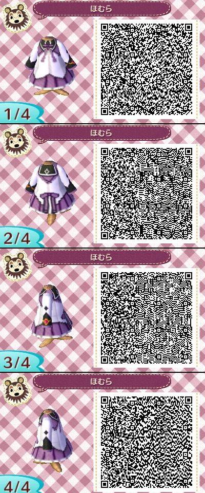 Acnl motif robe hiver