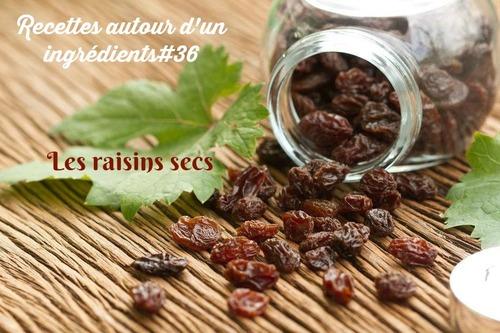 Palets aux flocons d'avoine et raisins secs